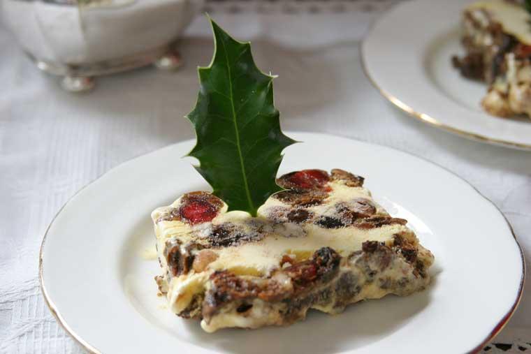 Christmas Cake Leftover Ideas : Luxury Christmas cake ice cream recipe Edmiston sisters at ...